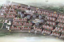 鼎建花园位于吾悦广场西南方