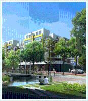 东湖明珠·天一家园位于吾悦广场西南方