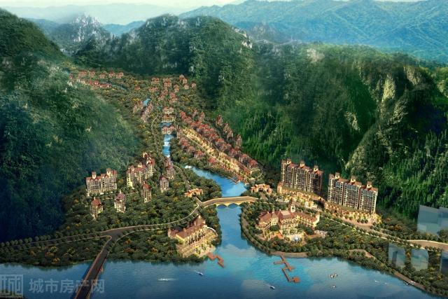 天鹅湖镇·金峪谷