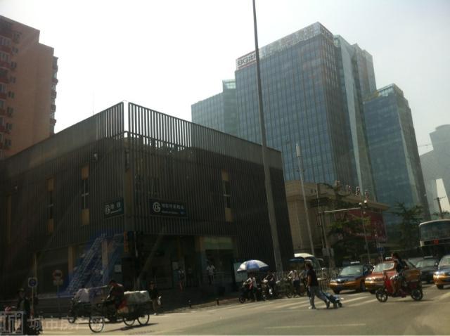 呼家楼地铁站图片 - 北京朝阳区