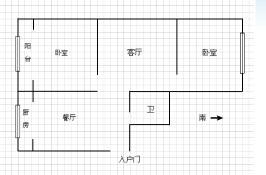 锦江花园三区户型图