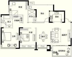富洲新城户型图