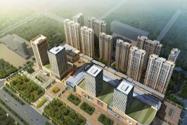 唐人中心位于瀚城国际二期东南方