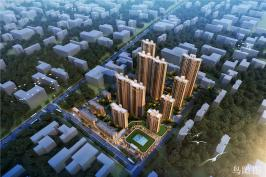 万锦城位于呈祥国际西南方