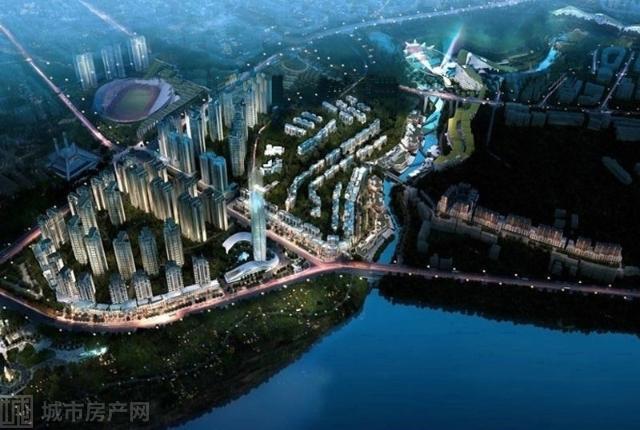 广安低碳智慧新城
