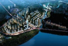 广安低碳智慧新城位于东南名居北方