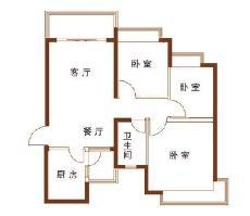 浔峰花苑户型图
