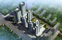盛泽国际广场位于润园·翡翠城东南方