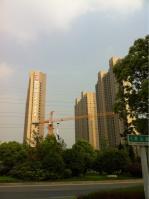 华邦·世贸城位于融创合肥壹号院西北方