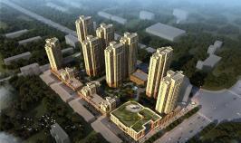 鼎盛华城位于金泰时代东南方