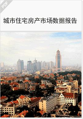 示例图片:城市住宅房产市场数据报告
