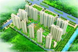 四季花城位于锦祥花园北方