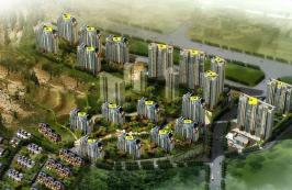 涵玉翠岭位于凤凰国际广场东南方