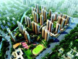 万科城位于力高国际南方