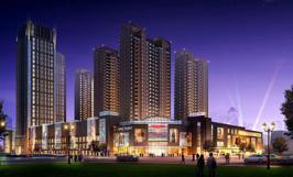 亿隆·国际广场位于宝地城B区西北方