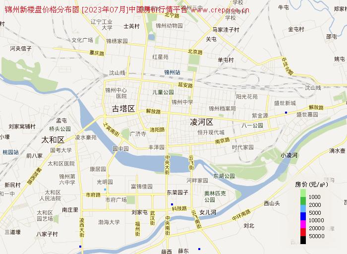 锦州新楼盘地图
