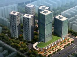 金恒财富广场位于金尚俊园东南方