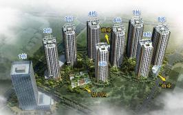广基·锦悦四季位于金尚俊园东北方