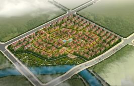 柳溪美庐位于凤凰水城东北方