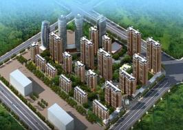 泉府公馆位于恒大·翡翠华庭东南方
