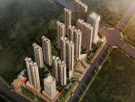 荣昌·绿园位于凤凰水城西北方