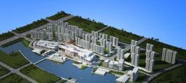 保利城位于宁波新城吾悦广场北方