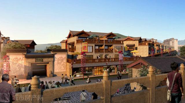 茶马古城旅游小镇