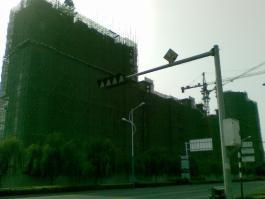 水岸枫景图片