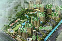 中鹰黑森林三期位于大华一村西南方
