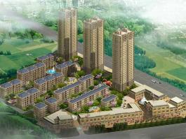 富城铭邸位于隆河谷南方