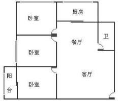 梅亭苑户型图