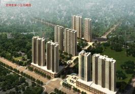 文锦世家位于国际大都会东南方