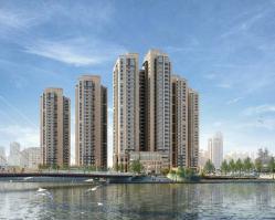 泰悦豪庭位于海河金茂府南方