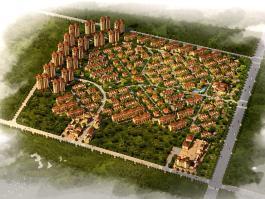 中盈北国绿城