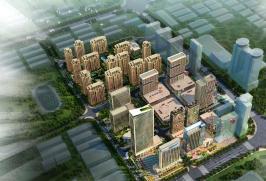 浙鑫广场位于中央生活城西北方