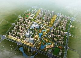 翔城国际位于新景国际城北方