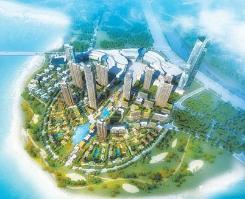 IOI棕榈城位于水晶湖郡西北方