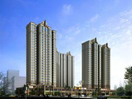 中国铁建瑞园位于西安·恒大城东南方