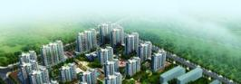 阳光丽舍位于珠江华府西北方