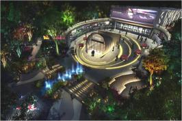 乐缤纷数码公园位于正弘蓝堡湾三期弘熹台西北方