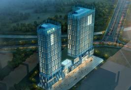 创新大厦智汇港位于正弘蓝堡湾三期弘熹台西北方