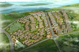 中南·世纪城位于红豆·香江花城东北方